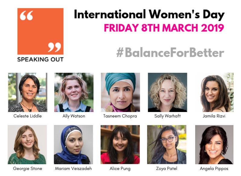 International Women's Day is on March 8th, and there's still time to book a speaker!